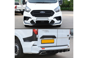 Transit Custom fitted with Predator Body Kit