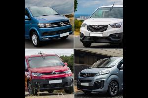 Four of the Uk's Top Ten Vans