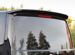 Rear styling spoilers for VW Trasporter and Ford Transit vans