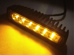 Amber beacons, flashing lights and emergency lights for vans