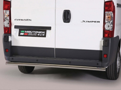Rear protection bars for vans