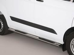 Side protection for vans - side steps and side bars