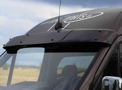 Sun visors for vans, protect your van from sunglare with a windscreen visor
