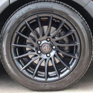 "18""x8.5"" Aero Black Alloy Wheel"