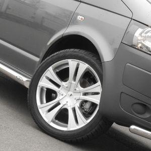 Stainless Steel Alloy Wheel VW T5 Silver 20 x 8.5 Inch