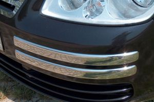 VW Caddy 2004-2010 Stainless Steel Front Bumper Trim
