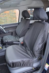 VW Caddy Tailored Waterproof Front Seat Covers 2004-