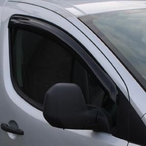 Citroen Berlingo Mk2 2008-2015 Front Pair of Adhesive Wind Deflectors