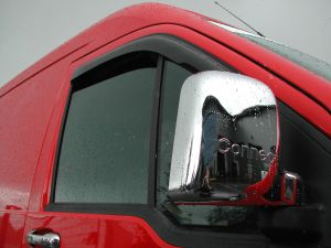 Ford Transit Connect 2002-2009 - Chrome Mirror Covers