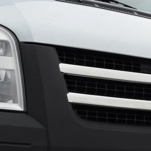 Stainless Steel Front Grille for Ford Transit 2 Piece