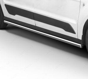 Ford Transit Connect 2013- LWB Polished Bars
