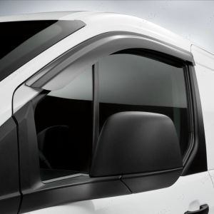 Ford Connect Window Door Visors Front Pair