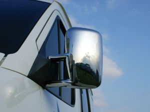 VW Crafter 2006-2012 Stainless Steel Mirror Covers