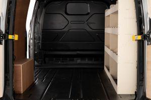 Ford Transit Custom SWB L1 Full Driver Side Racking and Shelving V1