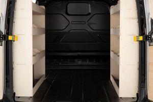 Ford Transit Custom L2 LWB NS+OS Rear XL Racking and Shelving (Pair) V2