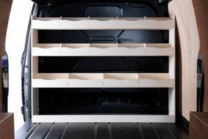 Ford Transit Custom Full Bulkhead Racking and Shelving Unit (1575mm)