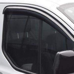 Ford Transit Custom 12 Onwards Window Door Visors Front Pair