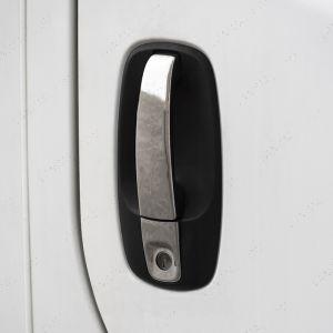Vauxhall Vivaro Door Handle Covers Stainless Steel 3dr