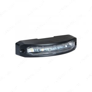 Flashing LED Amber Corner Strobe - 177 x 41mm