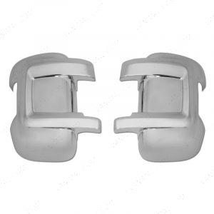 Fiat Ducato 2006-2014 Chrome Mirror Cover Protectors