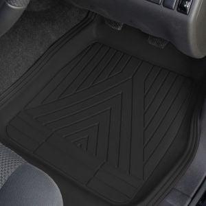 Universal black floor mats for all vans