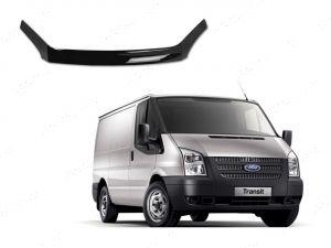 Ford Transit Mk7 2006-2014 Black Acrylic Bonnet Guard