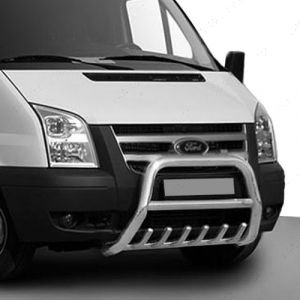 Stainless Steel Nudge A-Bar For Ford Transit