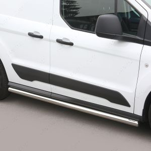 Stainless Steel Side Bars For Ford Transit Connect Mk2 SWB L1