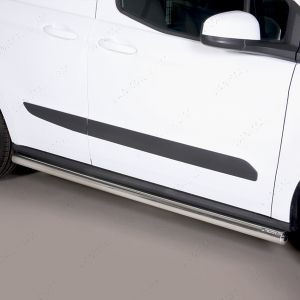 Ford Transit Courier Polished Stainless Steel Side Step 63mm