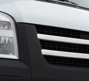 Stainless Steel Front Grille for Ford Transit 2 Piece 2621081