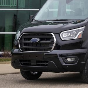 Ford Transit Mk8 2014 On 2Pce Stainless Steel Grille Frame Trim Kit