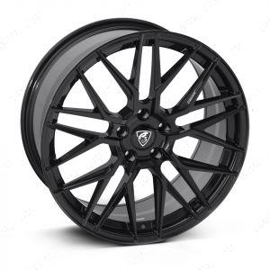 """VW Transporter Black 20"""" Alloy Wheels T5 T5.1 T6 T6.1"""