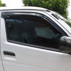 Toyota Hiace Van 2005 To 2014 Window Door Visors Front Pair