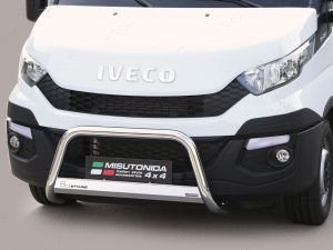 Iveco Daily 2014 on Stainless Steel Nudge A-Bar