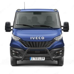 Iveco Daily Black Front A-Bar Bull Bar 2019-