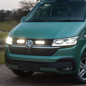 Lazer Triple R 750 grille integration kit fitted to a VW Transporter T6.1 2020