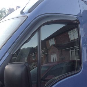 Renault Master Van 1998 To 2010 Window Door Visors Quad Set