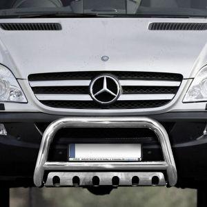 Mercedes Sprinter 14 Onwards 70mm Front Nudge A-Bar Steel