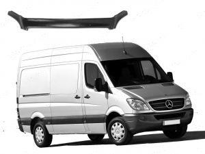Mercedes Sprinter 2006-2013 Dark Smoke Bonnet Guard