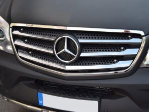 Mercedes Sprinter 2014 Facelift Front Grille Surround In Stainless Steel