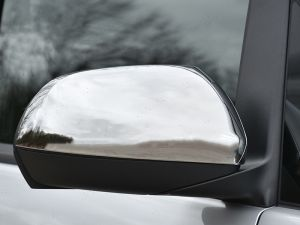 Mercedes Vito & Viano Stainless Steel Mirror Covers Rhd