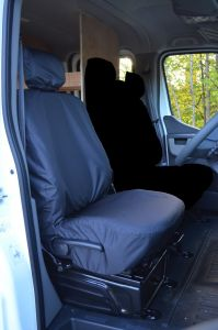 Tailored Front Waterproof Seat Cover for Renault Master 2011-