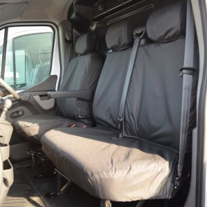 Tailored Front Waterproof Seat Covers for Nissan NV400 2011-