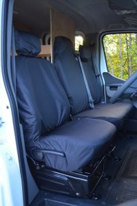 Tailored Front Waterproof Seat Covers for Vauxhall Movano 2011-