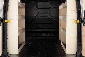 Ford Transit Custom SWB L1 - Triple Racking Units (V4)