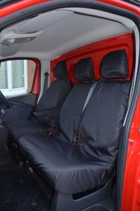 NV300 Front Seat Covers - Fixed Bench 2016-