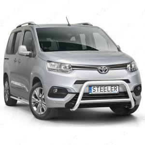 Toyota ProAce City Polished Front A-Bar 2019-