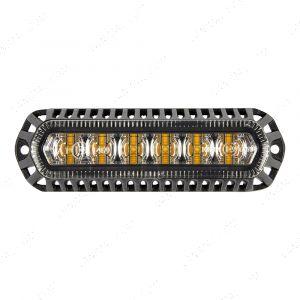 Flashing LED Amber Strobe Recessed - 140mm