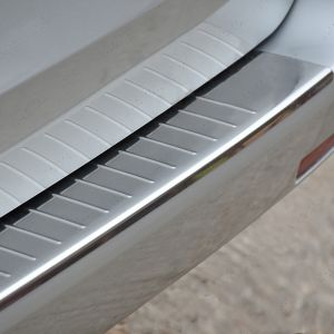 Mercedes Vito W447 2014 On Stainless Steel Rear Bumper Guard
