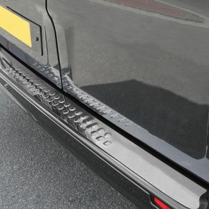 Traffic Stainless Steel Rear Bumper Trim